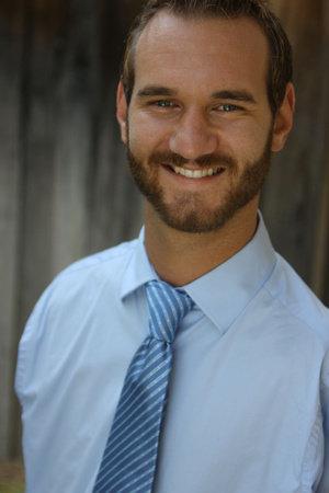 Photo of Nick Vujicic