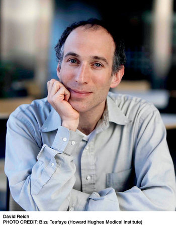 Photo of David Reich