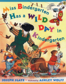 Miss Bindergarten Has a Wild Day in Kindergarten