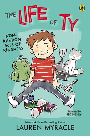 Non-Random Acts of Kindness by Lauren Myracle; Illustrated by Jed Henry