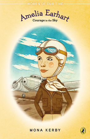 Amelia Earhart by Mona Kerby