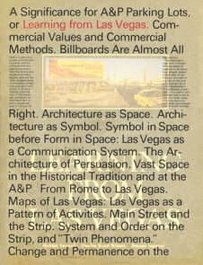 Learning From Las Vegas, facsimile edition