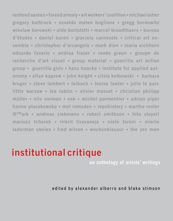 Institutional Critique by