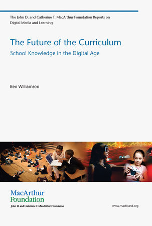 The Future of the Curriculum by Ben Williamson