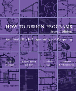 How to Design Programs, second edition