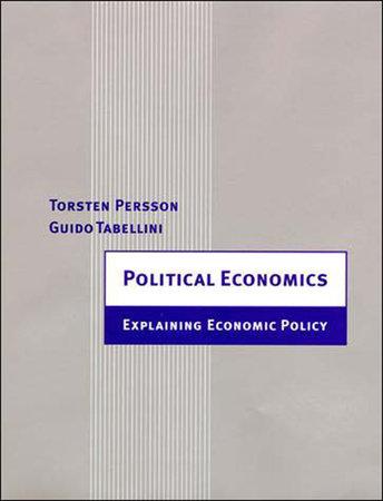 Political Economics by Torsten Persson and Guido Tabellini