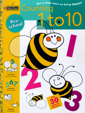 Counting 1 to 10 (Preschool) by Golden Books
