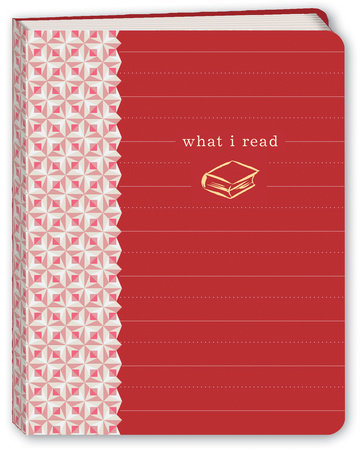 What I Read (Red) Mini Journal by Potter Gift