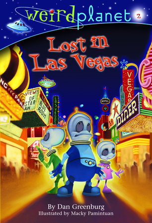 Weird Planet #2: Lost in Las Vegas by Dan Greenburg