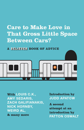 Care To Make Love In That Gross Little Space Between Cars? by The Believer