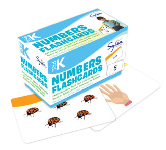 Pre-K Numbers & Shapes Flashcards