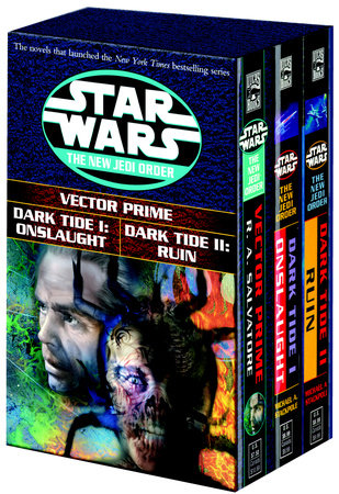 Star Wars NJO 3c box set MM by R.A. Salvatore