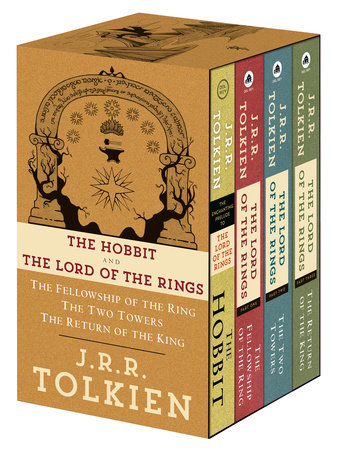 J.R.R. Tolkien 4-Book Boxed Set: The Hobbit and The Lord of the Rings by J.R.R. Tolkien