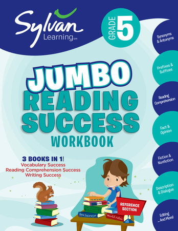 5th Grade Jumbo Reading Success Workbook by Sylvan Learning