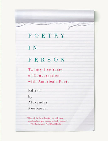 Poetry in Person by Alexander Neubauer