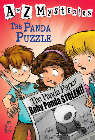 A to Z Mysteries: The Panda Puzzle by Ron Roy