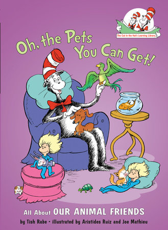 Oh, the Pets You Can Get! Cover