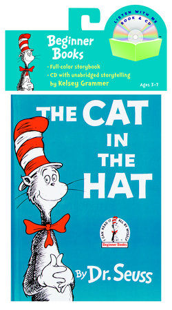 The Cat in the Hat Book & CD Cover