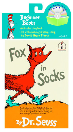 Fox in Socks Book & CD Cover