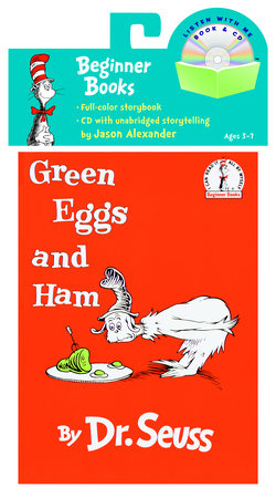 Green Eggs and Ham Book & CD Cover