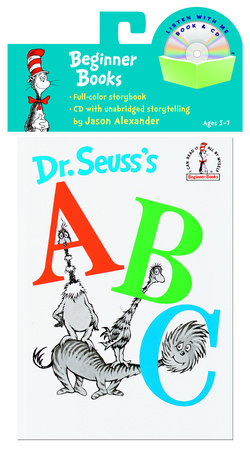 Dr. Seuss's ABC Book & CD Cover