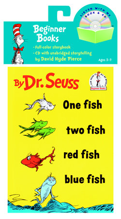 One Fish, Two Fish, Red Fish, Blue Fish Book & CD Cover
