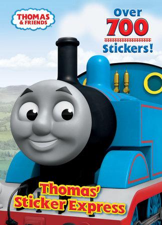 THOMAS' STICKER EXPRESS (Thomas & Friends) by Rev. W. Awdry