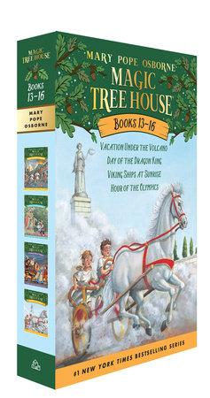 Magic Tree House Books 13-16 Boxed Set by Mary Pope Osborne