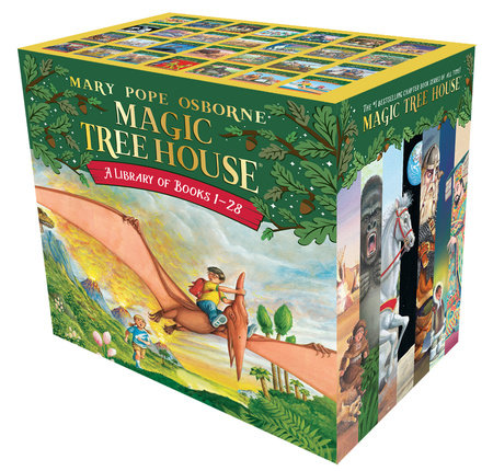 Magic Tree House Books 1-28 Boxed Set by Mary Pope Osborne