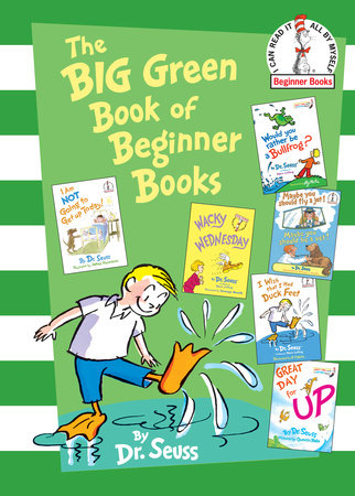 The Big Green Book of Beginner Books Cover