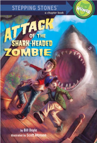 Attack of the Shark-Headed Zombie