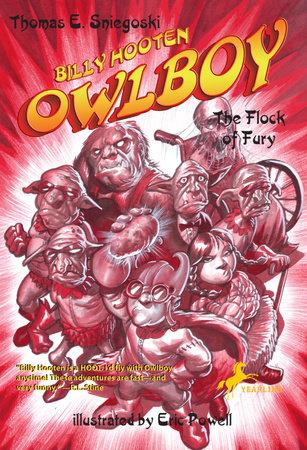 Billy Hooten #4: The Flock of Fury by Tom Sniegoski