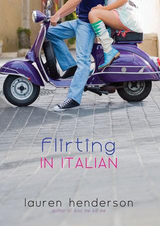 Flirting in Italian by Lauren Henderson