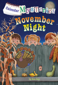Calendar Mysteries #11: November Night