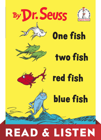 One Fish Two Fish Red Fish Blue Fish: Read & Listen Edition Cover