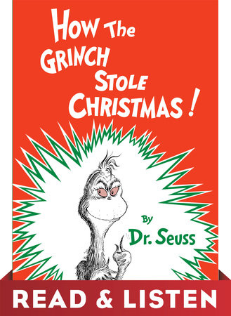 How the Grinch Stole Christmas! Read & Listen Edition Cover
