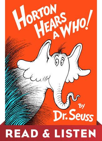 Horton Hears A Who! Read & Listen Edition Cover