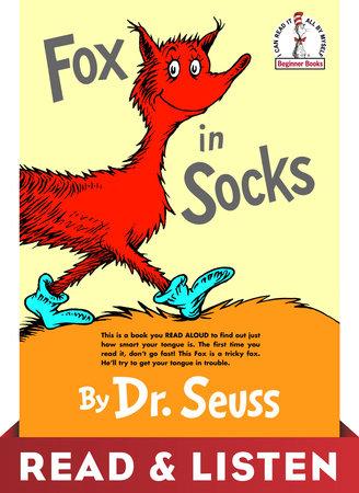 Fox in Socks: Read & Listen Edition by Dr. Seuss