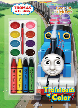 Trainloads of Color (Thomas & Friends) by Golden Books