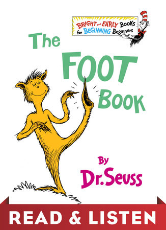 The Foot Book: Read & Listen Edition Cover