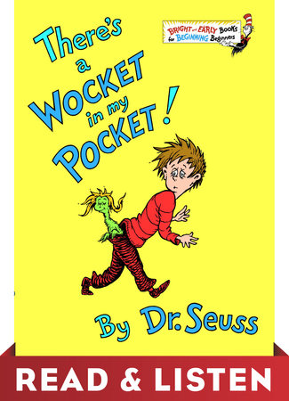 There's a Wocket in My Pocket: Read & Listen Edition Cover