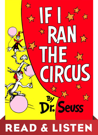 If I Ran the Circus: Read & Listen Edition Cover
