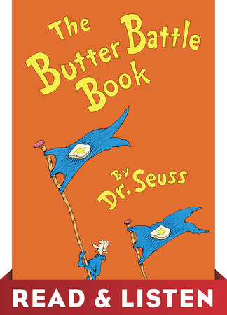 The Butter Battle Book: Read & Listen Edition Cover