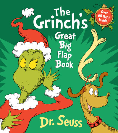 The Grinch's Great Big Flap Book Cover