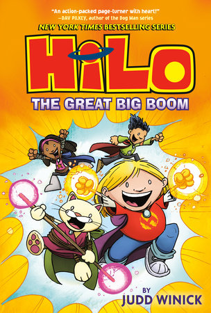Hilo Book 3: The Great Big Boom by Judd Winick