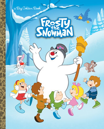 Frosty the Snowman Big Golden Book (Frosty the Snowman) by Suzy Capozzi