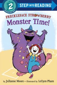 Freckleface Strawberry: Monster Time!