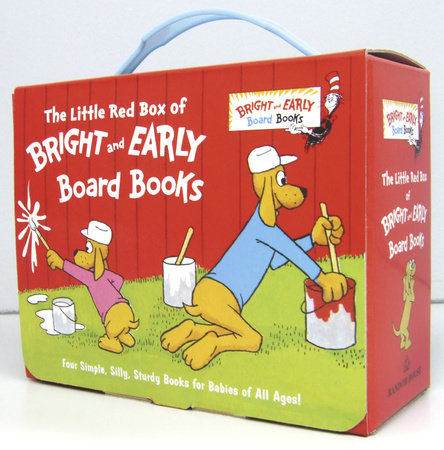 The Little Red Box of Bright and Early Board Books by P.D. Eastman and Michael Frith