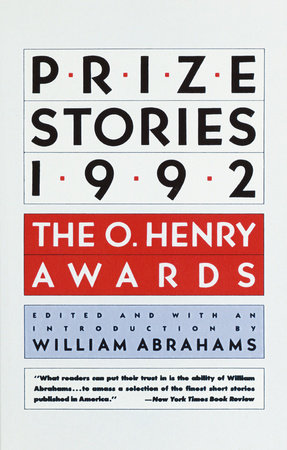 Prize Stories 1992 by William Abrahams