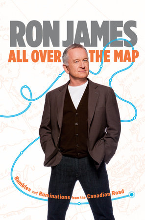 All Over the Map by Ron James
